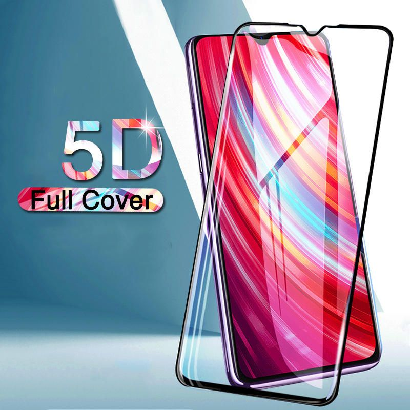 DGP US$8.30 Bakeey 5D Curved 9H Anti-explosion Full Coverage Tempered Glass Screen Protector for Xiaomi Redmi Note 8 Pro