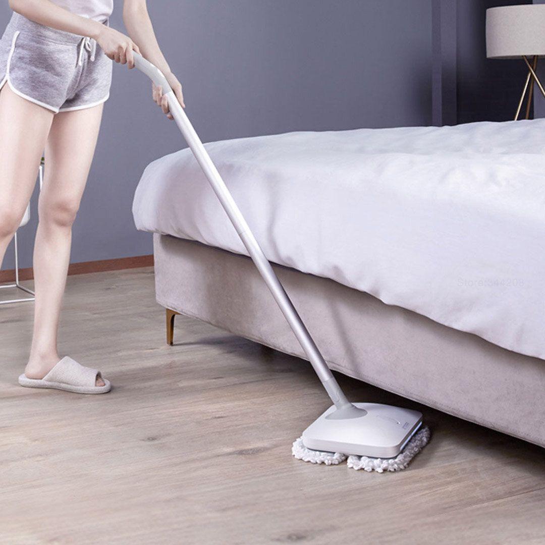 XIAOMI Mijia Wireless Handheld Electric Mopping LED Wiper Floor Window Washers Wet Mop Vacuum Cleaner, 60min Long Battery life