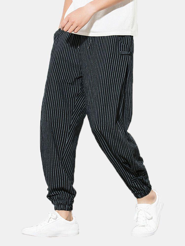 Mens Casual Harem Pants