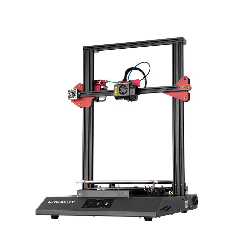 Creality 3D® CR 10S Pro V2 Firmware Upgrading DIY 3D Printer Kit 300*300*400 Print Size With Auto Leveling/Dual Gear Extrusion/ResumePrint/Colorful Touch Screen