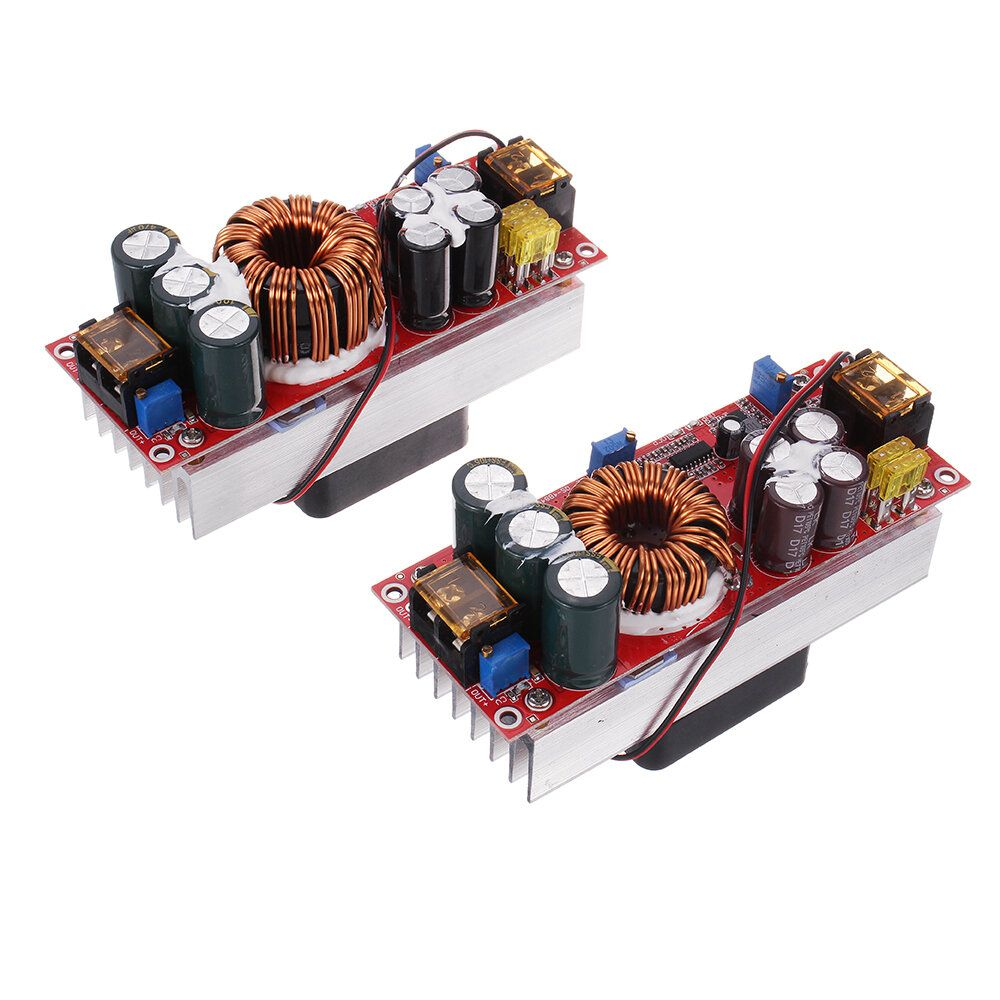 1200W/1800W 30A High Current DC DC DC Constant Voltage Constant Current Boost Power Supply Module Electric Vehicle Booster
