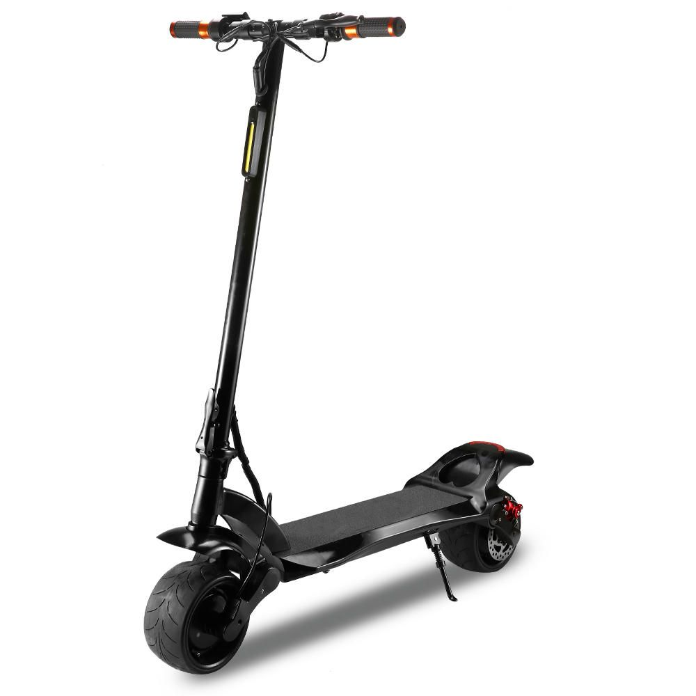 LAOTIE W2 48V 13A Dual Motor Folding Electric Scooter 38km/h Top Speed 45km Mileage Range Max Load 100kg Double Brake System Scooter