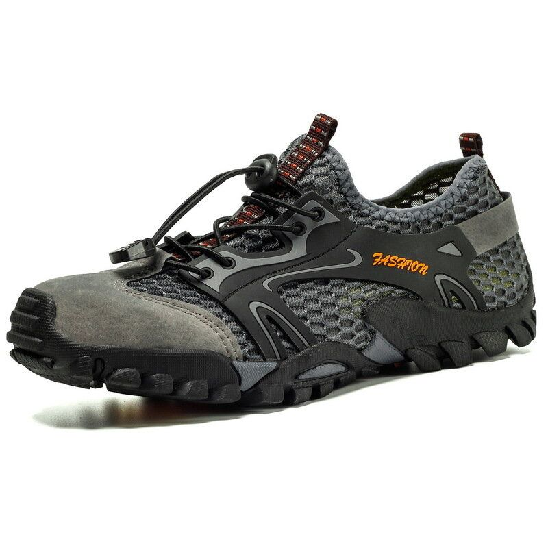 TENGOO Men Water Shoes Quick Qrying Sports Shoes Outdoor Running Hiking Walking Fishing Sneakers