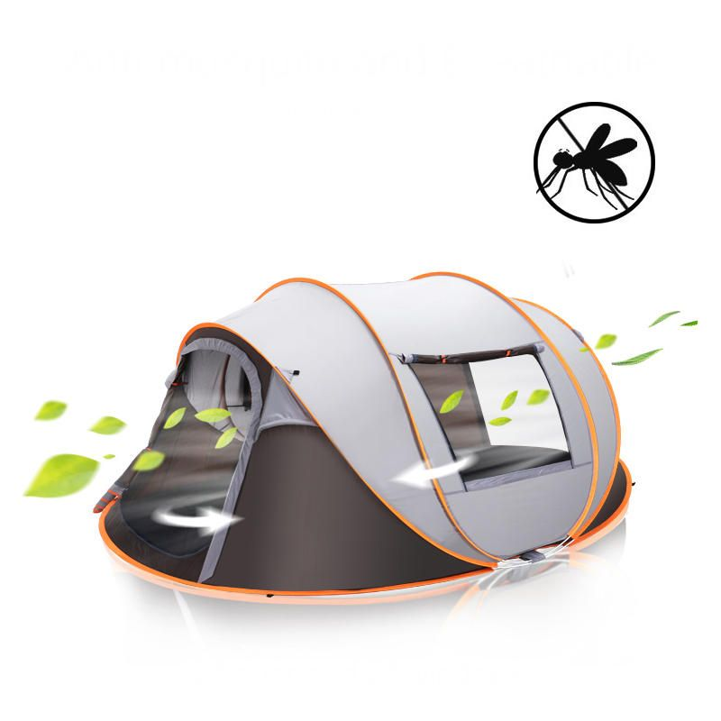 Outdoor Large Camping Tent UV Protection Moisture Proof Waterproof Full automatic Tent Quick opening Tent
