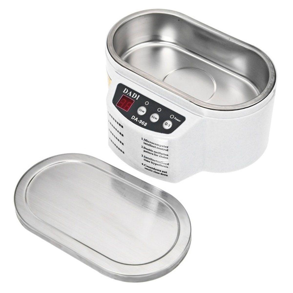 30W 50W Mini Ultrasonic Cleaner Bath For Cleaning Jewelry Glasses Circuit Board False Teeth