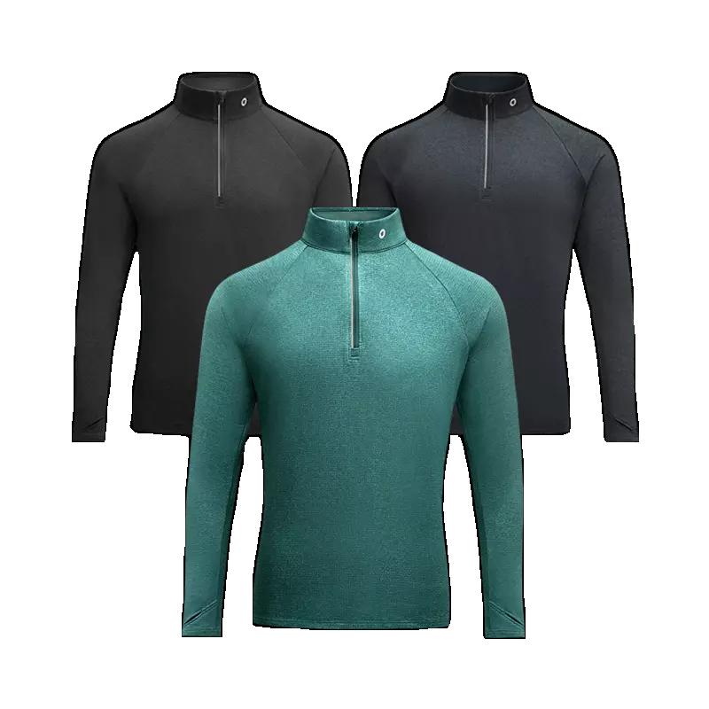 Amazfit II Sports Men Long Sleeve Microfiber Hydrophobic Waterproof Quick Drying Winter Warmer Clothing Sweatshirt From Xiaomi Youpin