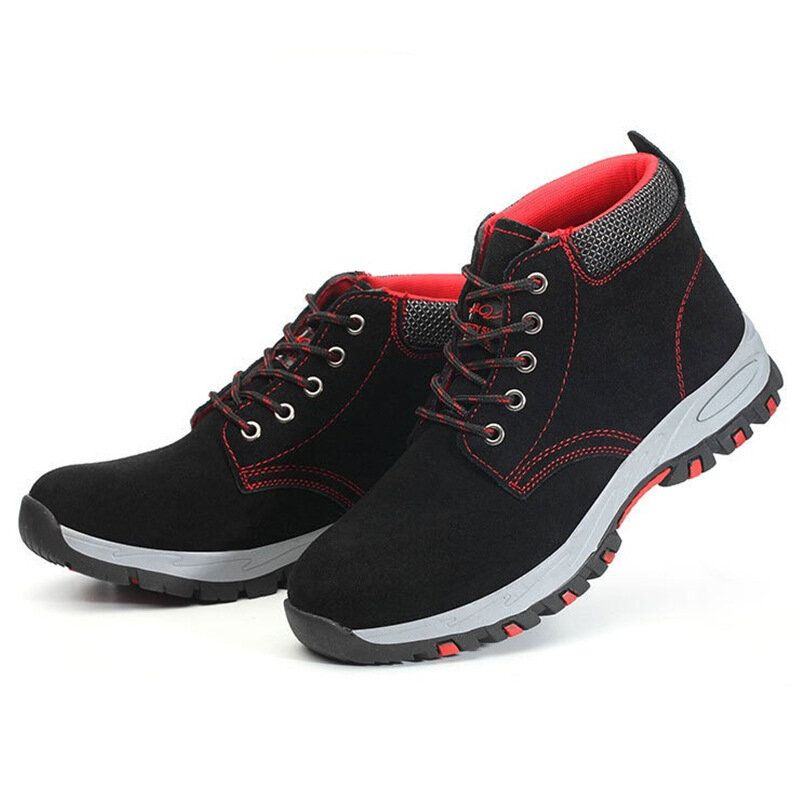KTA US$29.61 Men Safety Shoes Steel Toe Cap Work Protective Trainers Boots Hiking Shoes