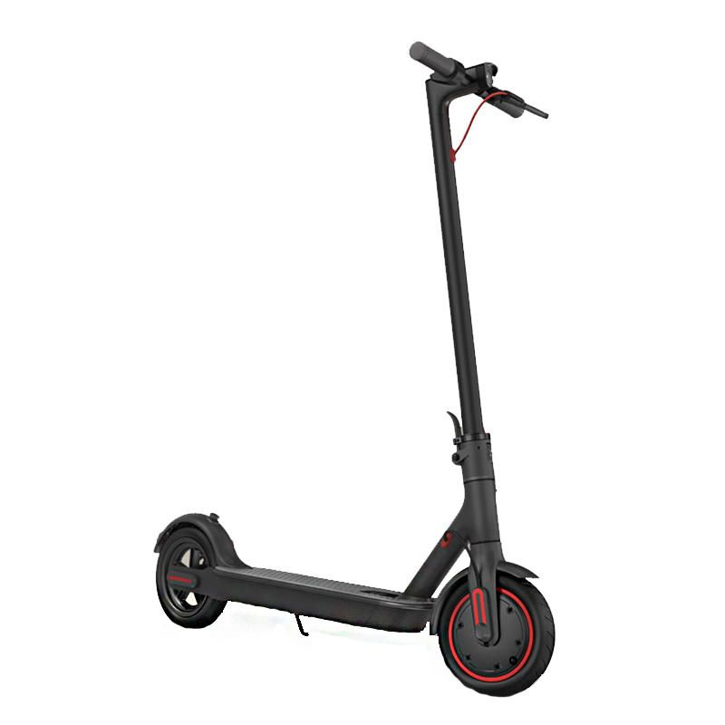 2019 Original Xiaomi Electric Scooter Pro 300W Motor 3 Speed Modes 25km/h Max. Speed 45km Mileage Range 12.8Ah Battery Double Brake System Multi function Control Panel Black