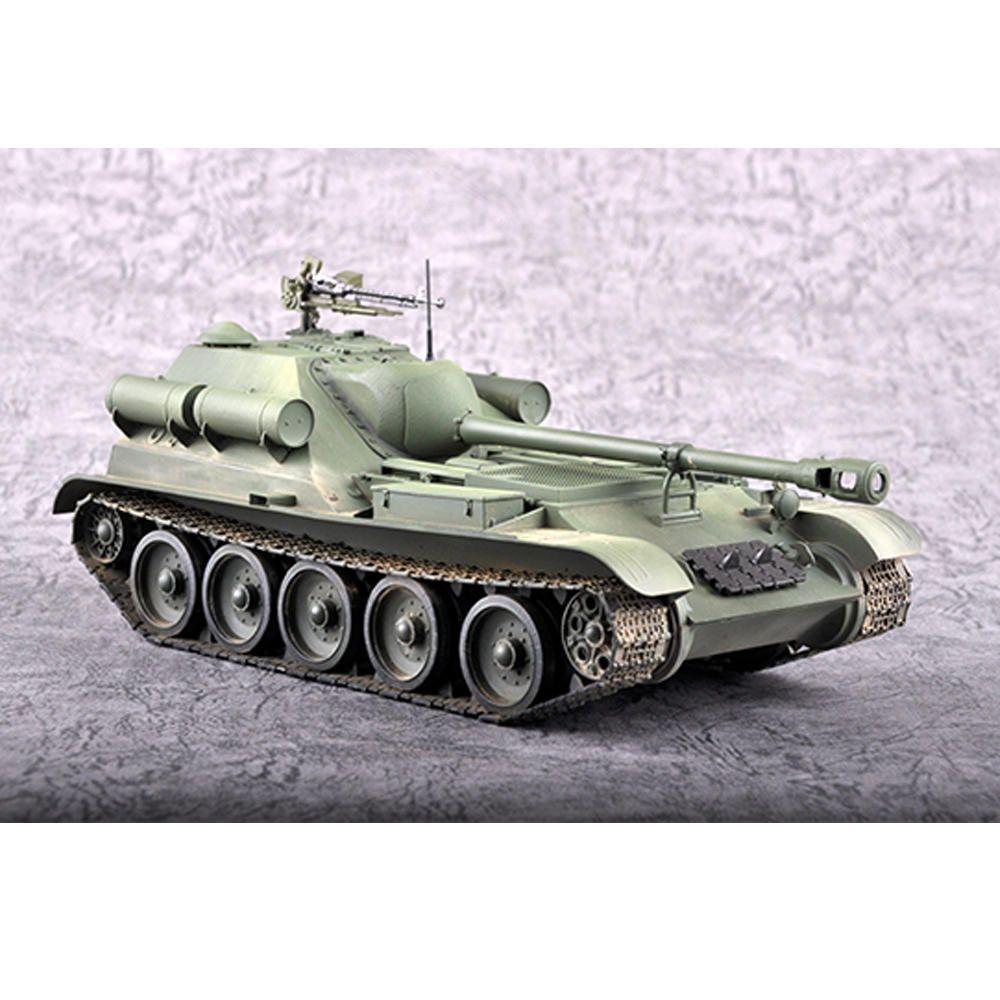 Trumpeter 1:35 Soviet Union SU 102 DIY Assembled Tank Destroyer Static Model Building Set