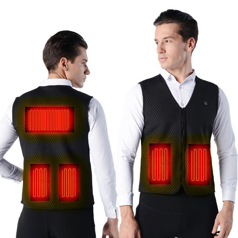 TENGOO Warm H USB Electric Charging Heated Coats Intelligent 3 Modes Heating Vest