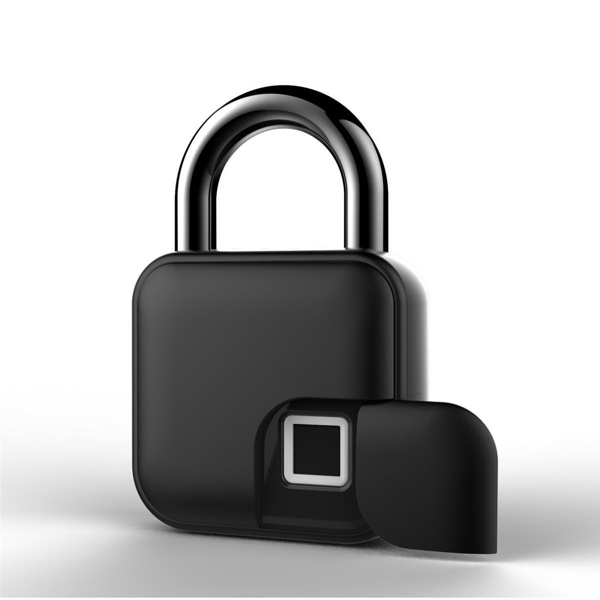 Anytek L3 Smart Fingerprint Lock Keys Padlock Door Motorcycle Anti theft Lock Bike Bicycle Lock