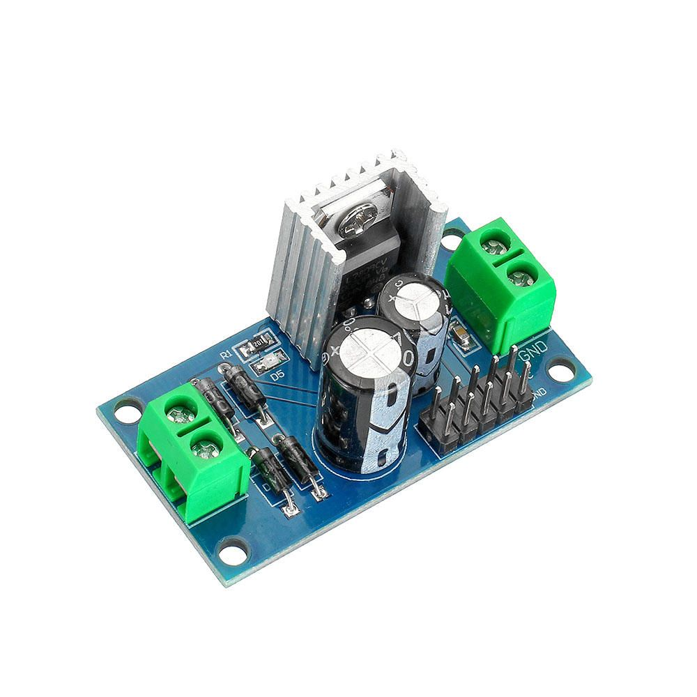 20pcs LM7809 DC/AC 12 24V to 9V DC Output Three Terminal Voltage Regulator Power Supply Step Down Module 1.2A