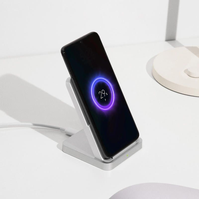 Original Xiaomi Mi Wireless Charger 30W Vertical Air cooled Holder Charger for Xiaomi 10 9 Pro for iPhone 11