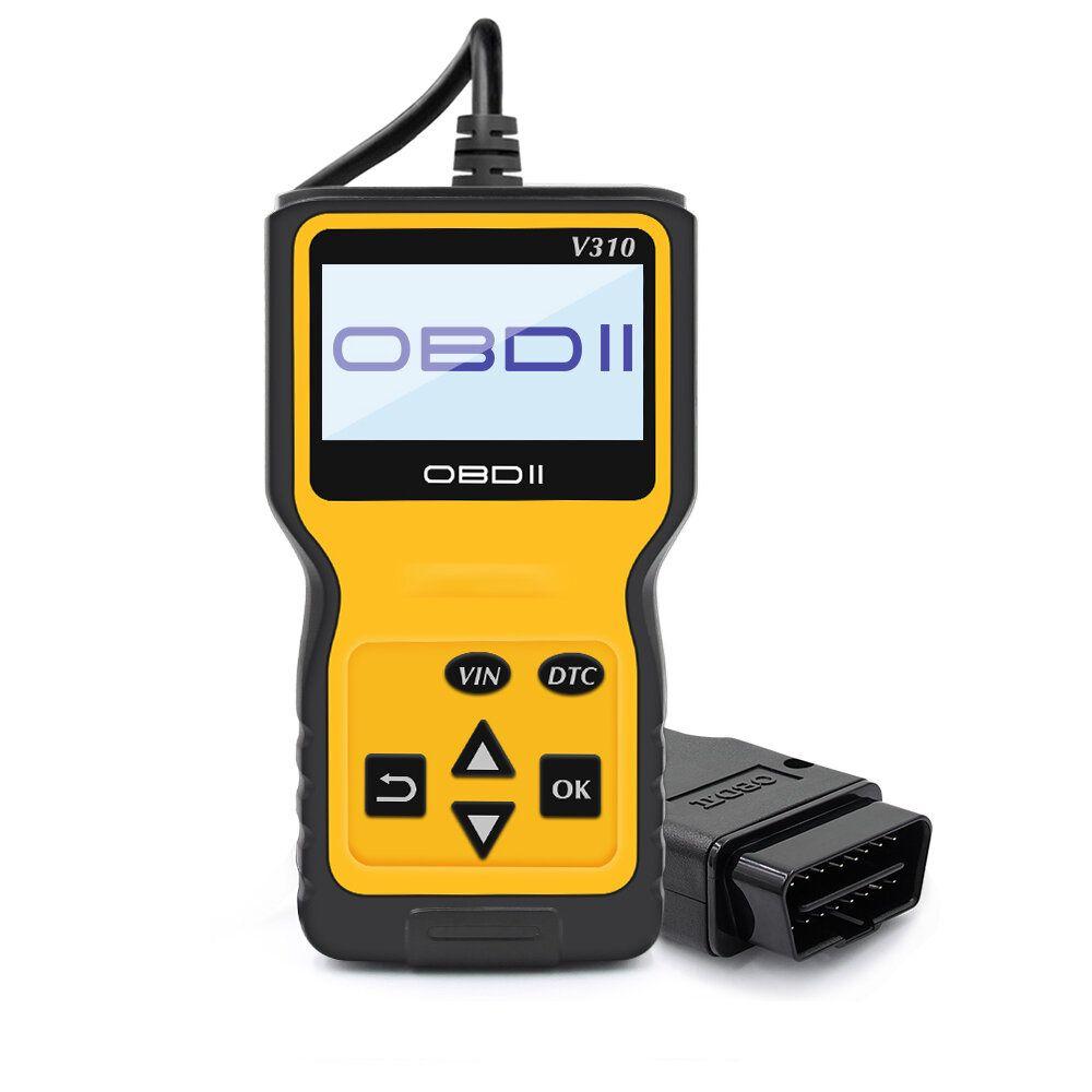 V310 OBD2 EOBD Car Diagnostic Scanner Auto Fault Code Reader Scan Tool Read DTC OBDII obd2 VS ELM327 V1.5