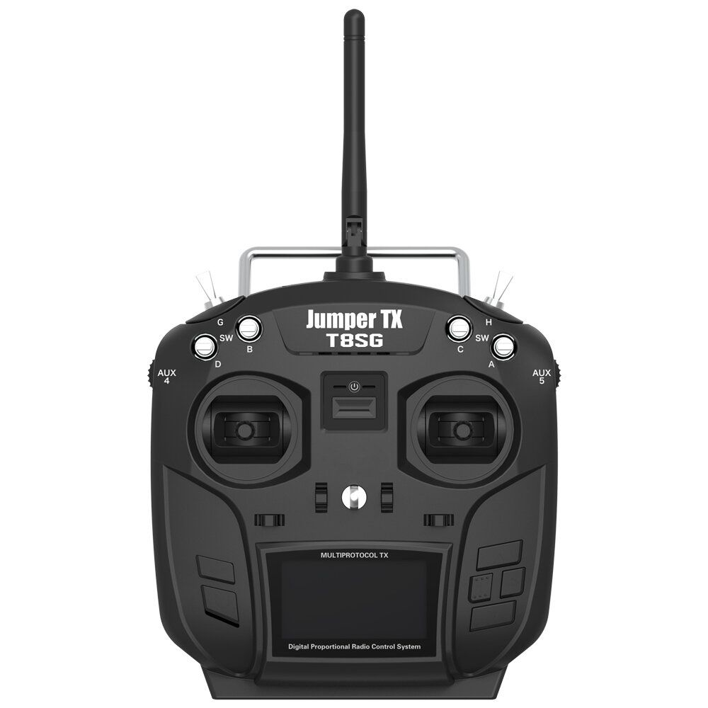 RadioMaster TX8/JumperTX T8SG 2.4G 12CH Hall Gimbal Open Source Multi protocol Mode2 Transmitter for RC Drone