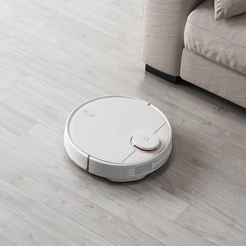 Xiaomi Mijia 2 in 1 Robot Vacuum Mop Vacuum Cleaner 2100pa Wifi Smart Planned Clean Mi Home APP