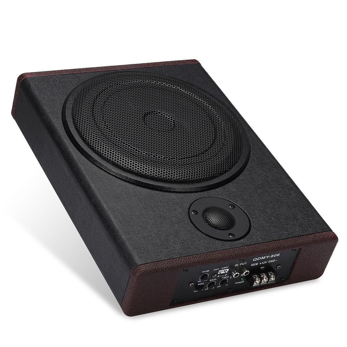 10 Inch 600W 12V Wooden Ultra thin Subwoofer Car Audio Car Speaker