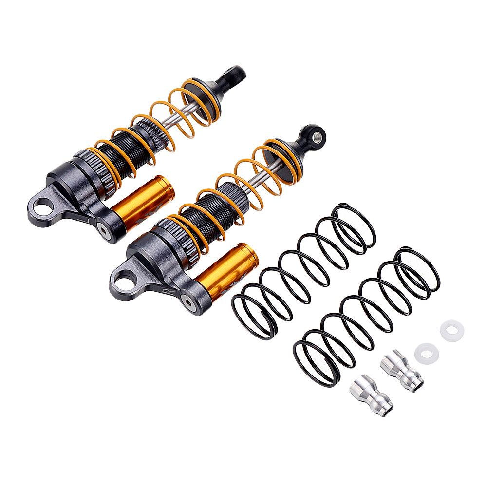 2PCS X Rider Flamingo Upgraded Rear Oil Filled Shock Absorber for 1/8 RC Tricycle Spare Parts