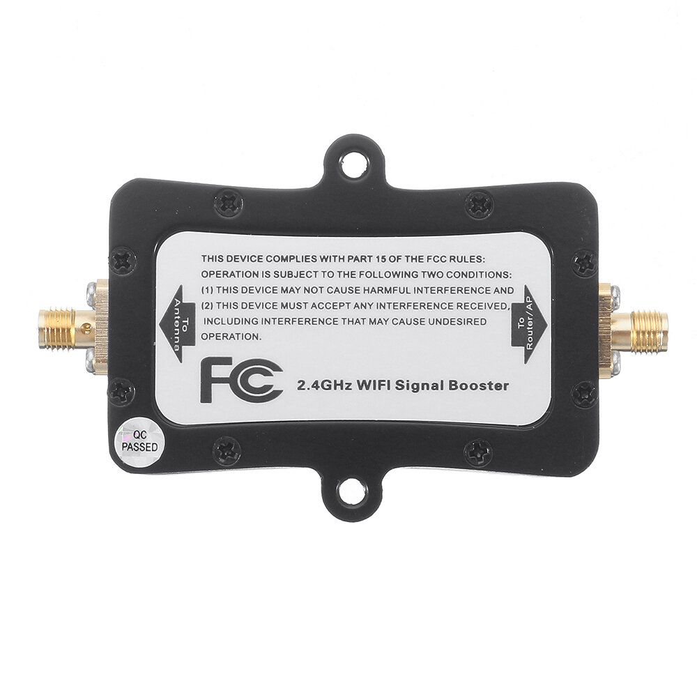SZHUASHI 4W 36dBm 2.4G Wireless WIFI 11b/g/n Signal Amplifier Signal Booster for FPV with FCC Certification