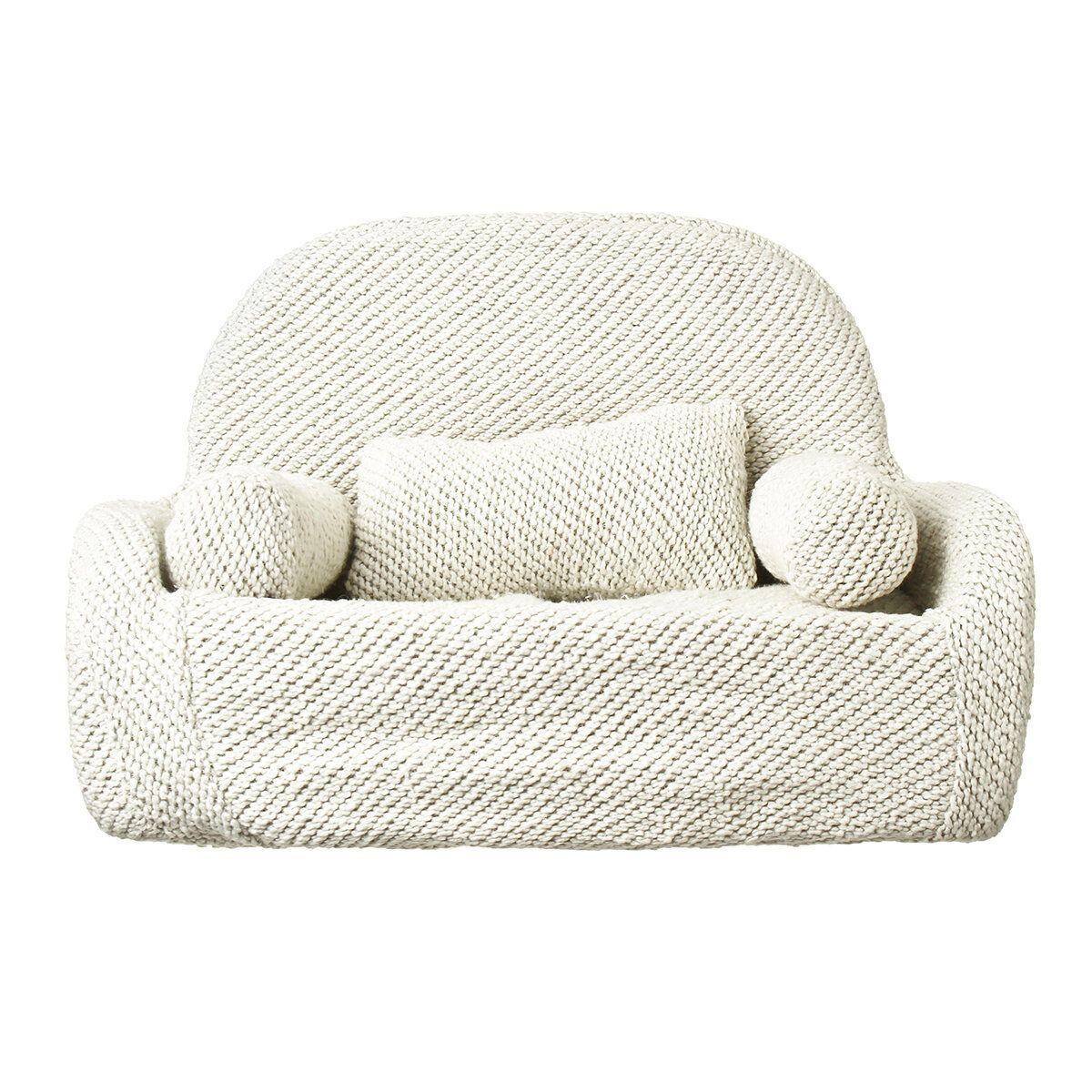 Newborn Baby Infant Sofa Chair Photography Prop Photo Studio Shooting Model Fabric Sofa