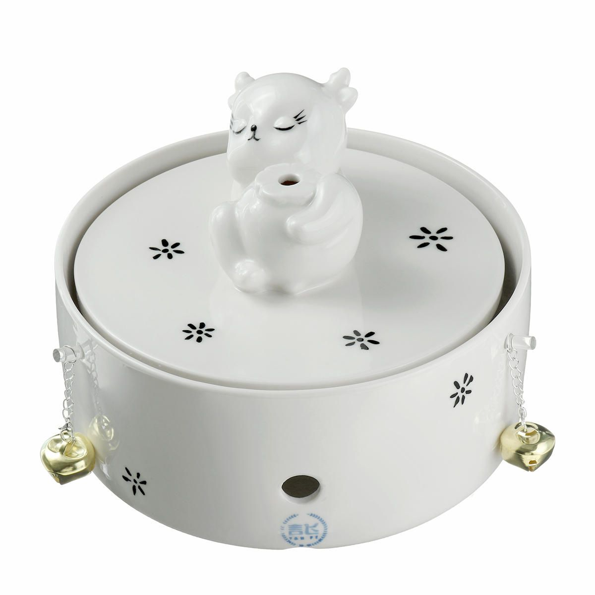 BVC US$33.39~35.39 Pet Ceramic Automatic Electric Water Fountain Dog Cat Drinking Bowl Tank