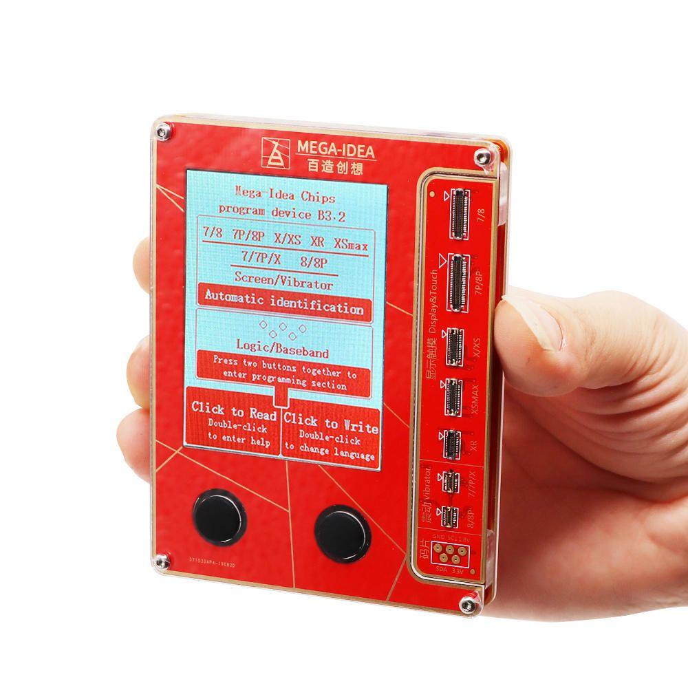 Qianli Mega Idea LCD Screen True Tone Repair Programmer for iPhone XR XSMAX XS 8P 8 7P 7 Vibration/Touch/Photosensitive Repair Tool