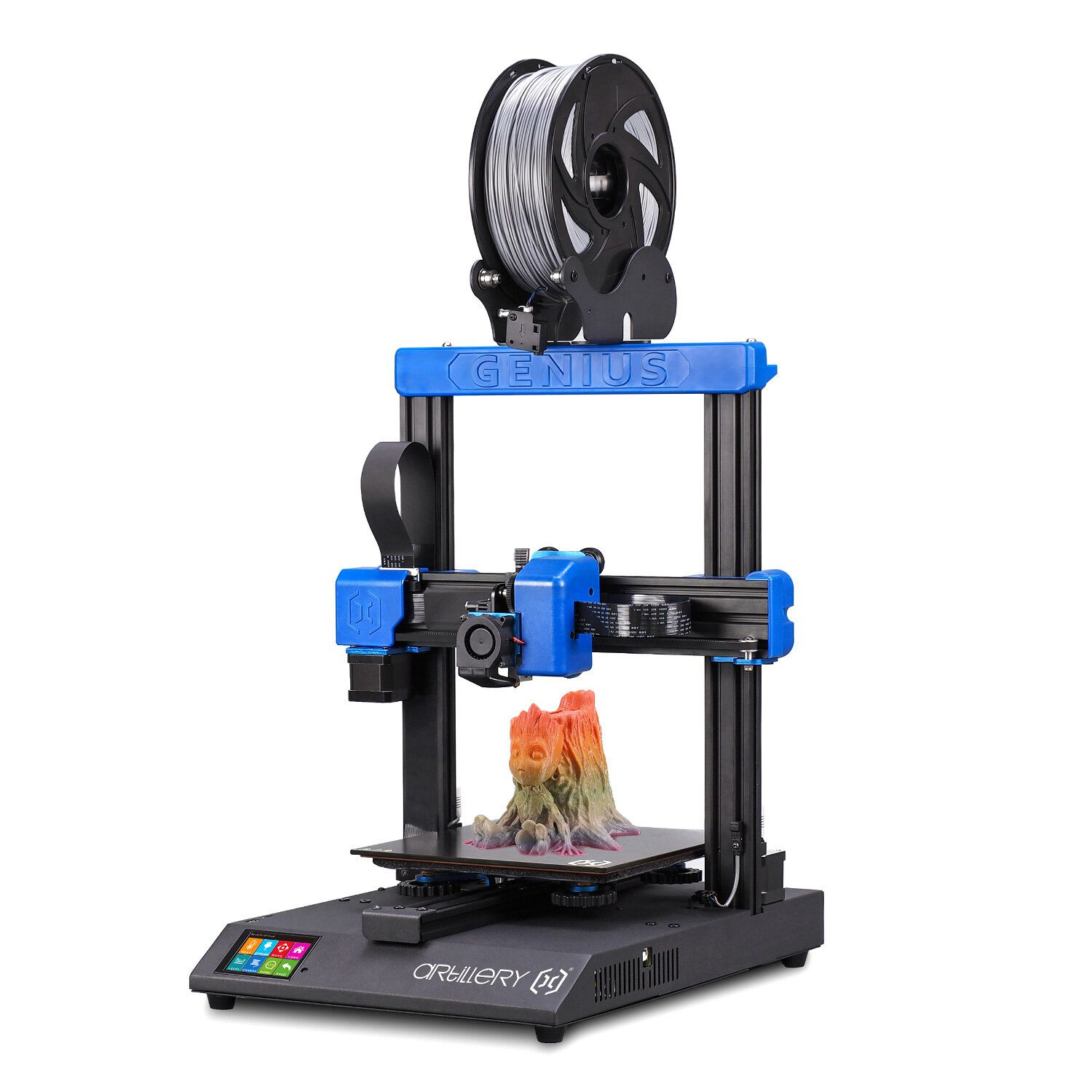 Artillery® Genius DIY 3D Printer Kit 220*220*250mm Print Size with Ultra Quiet Stepper Motor TFT Touch Screen Support Filament Runout Detection&Power Failure Function