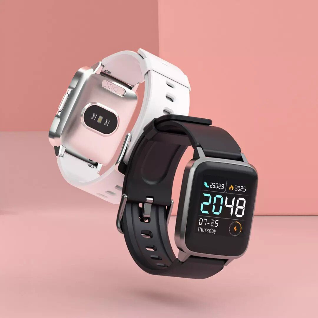 Haylou LS01 International Version Continuous Heart Rate Monitor 9 Sport Modes GPS Run Rount Track Breathing Traning BT4.2 Smart Watch