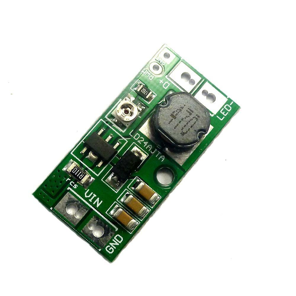 20pcs DC 9V 12V 18V 24V 20W Adjustable LED Driver PWM Controller DC DC Step Down Module Constant Current Converter Board