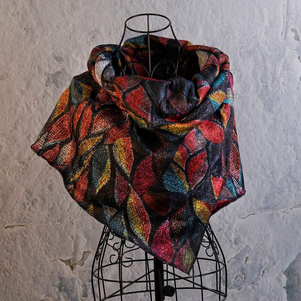 Vintage Scarves & Shawl Wrap Pattern
