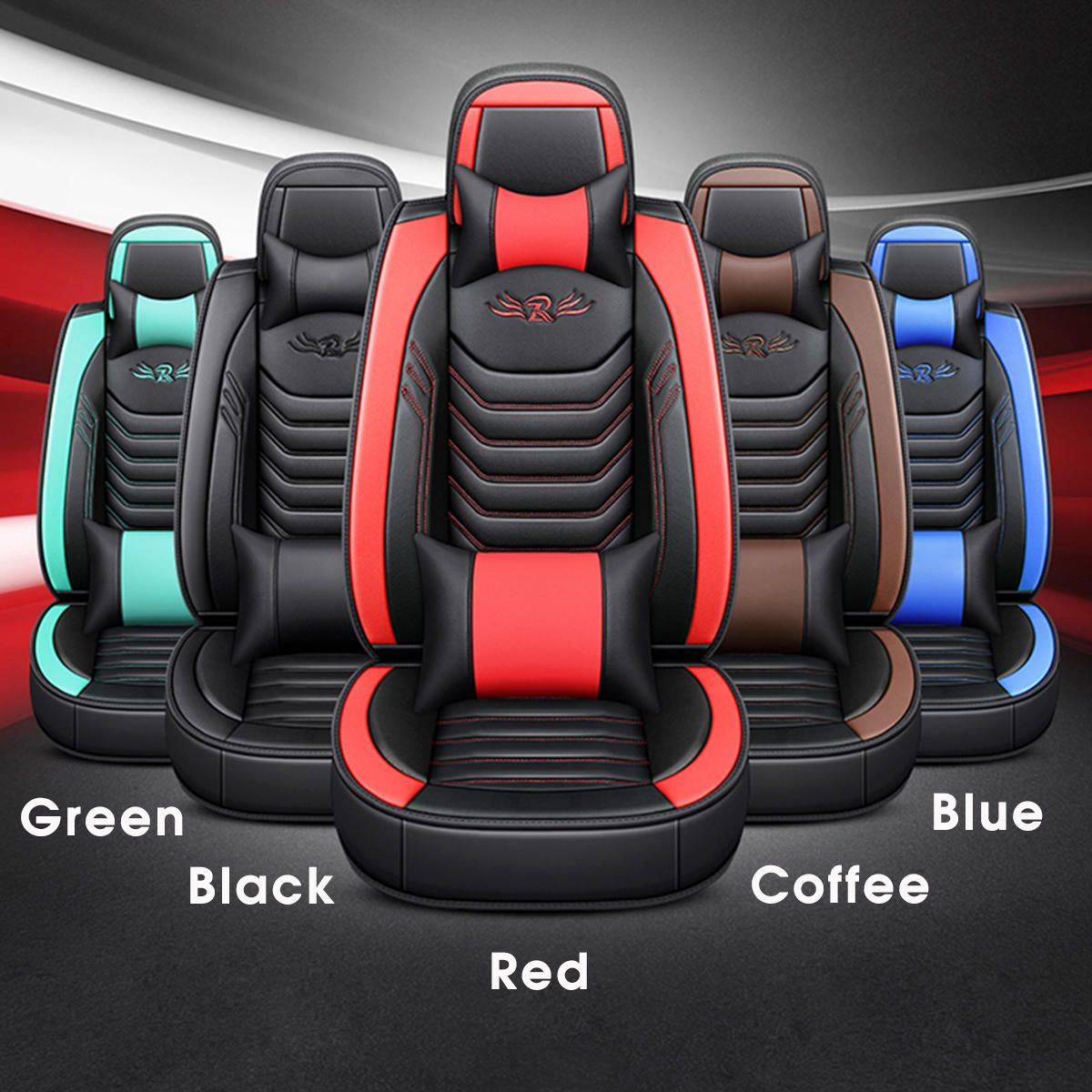 ICW US$141.38 Wear-Resistant PU Leather Car Seat Cover 65 * 55 * 25cm