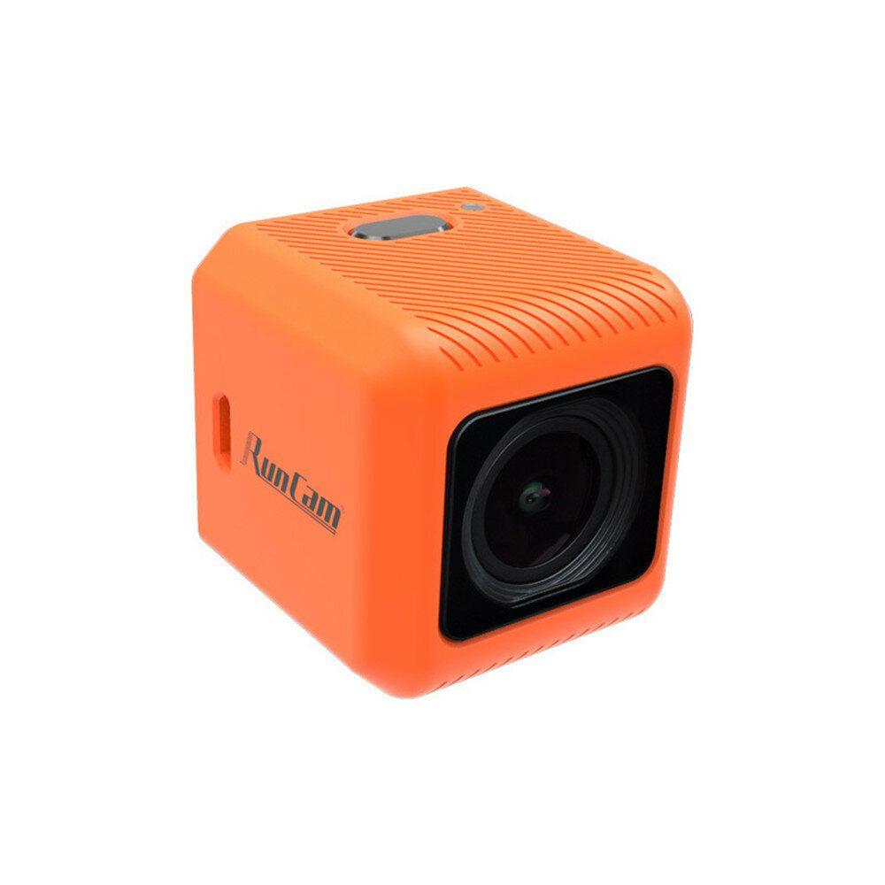 RunCam 5 Orange 12MP 4:3 145°FOV 56g Ultra light 4K HD FPV Camera for RC Drone
