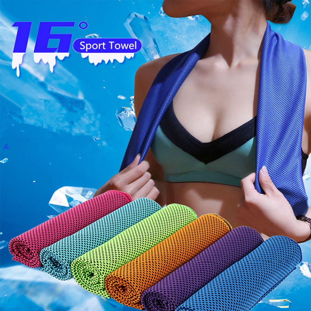 CCE US$4.29 KCASA 30x90cm 16℃ Microfiber Portable Quick-drying Sports Towel Travel Jogger Cloth Camping Swimming Gym Washcloth