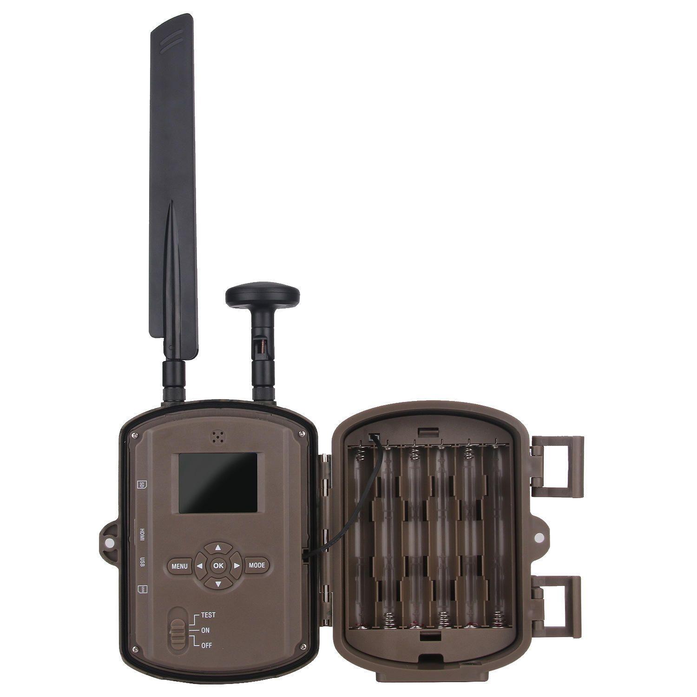 4G HD LCD Screen Night Vision Hunting Camera GPS Camera Infrared Monitoring Camera