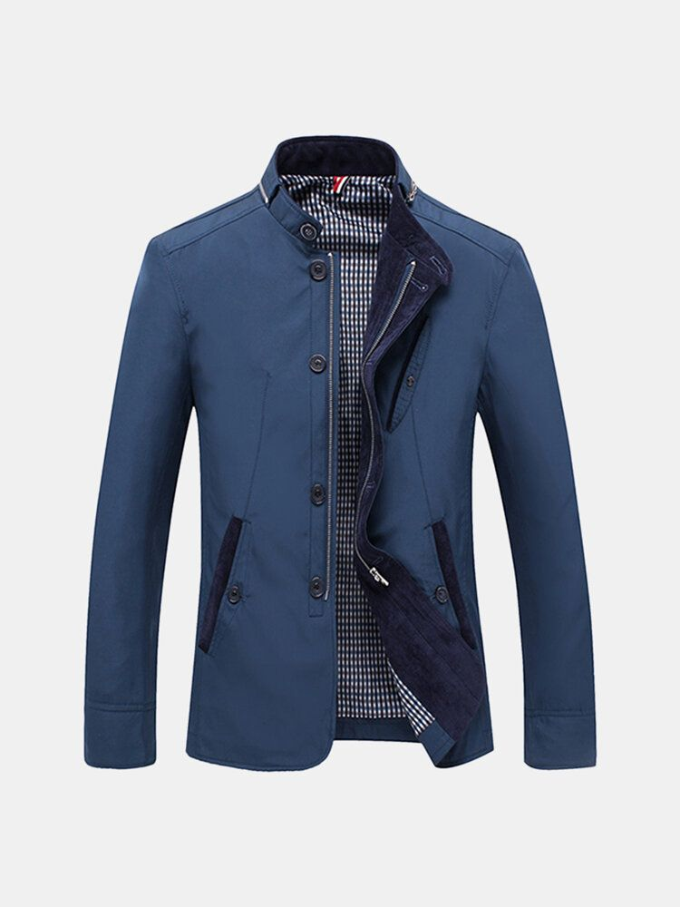 Mens Casual Business Fashion Jacket