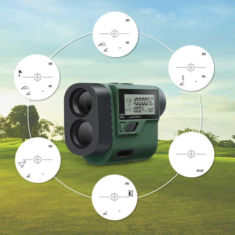 HUPAR HLR1000 1000M 6Modes IP54 Telescope Laser Rangefinder Outdoor Golf Hunting Range Finder
