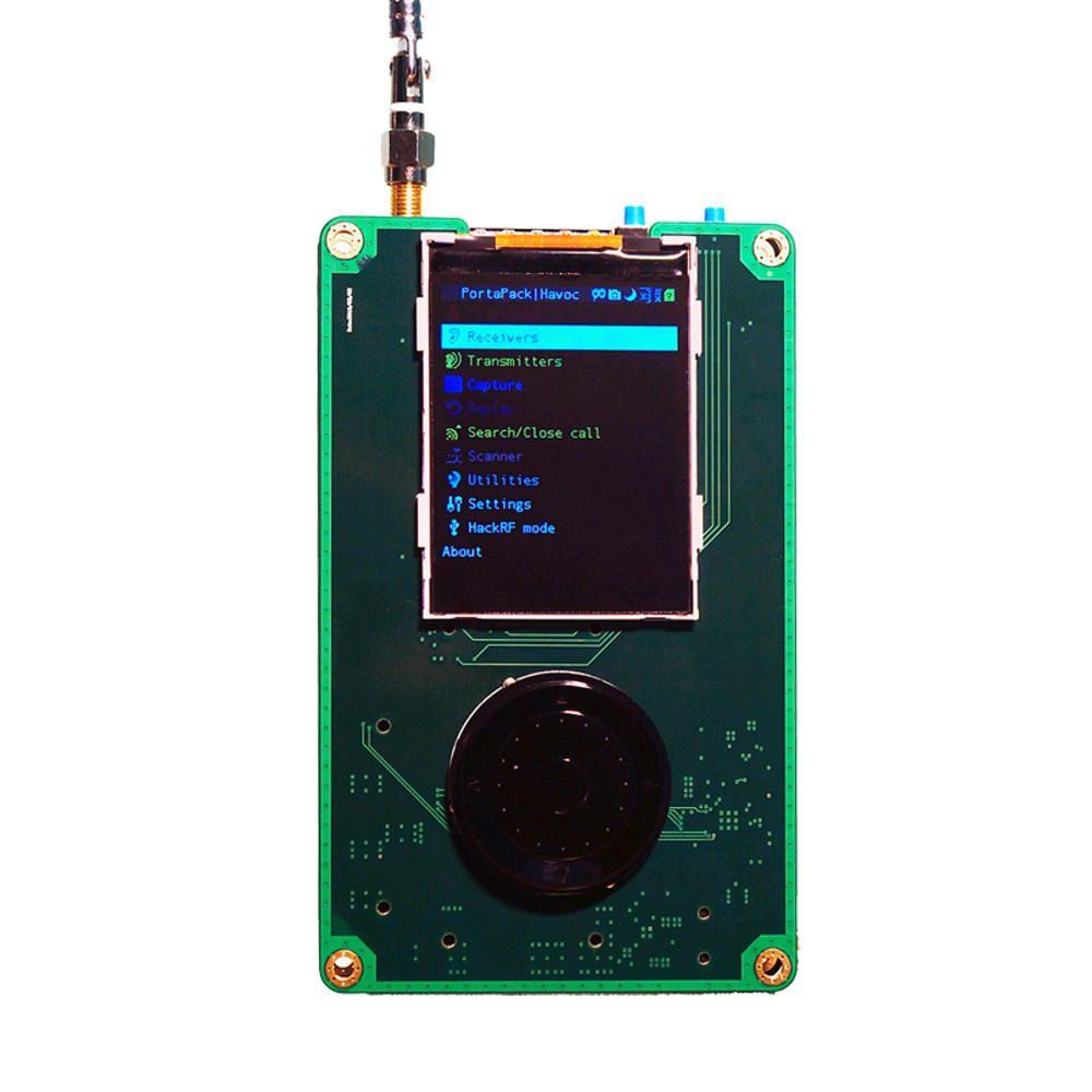 PortaPack H1 For HackRF One 1MHz 6GHz SDR Receiver and Transfer AM FM SSB ADS B SSTV Ham Radio Transceiver