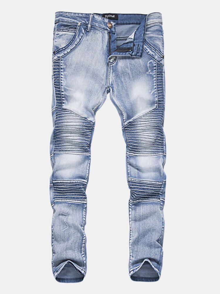 Mens Vintage Fold Jeans