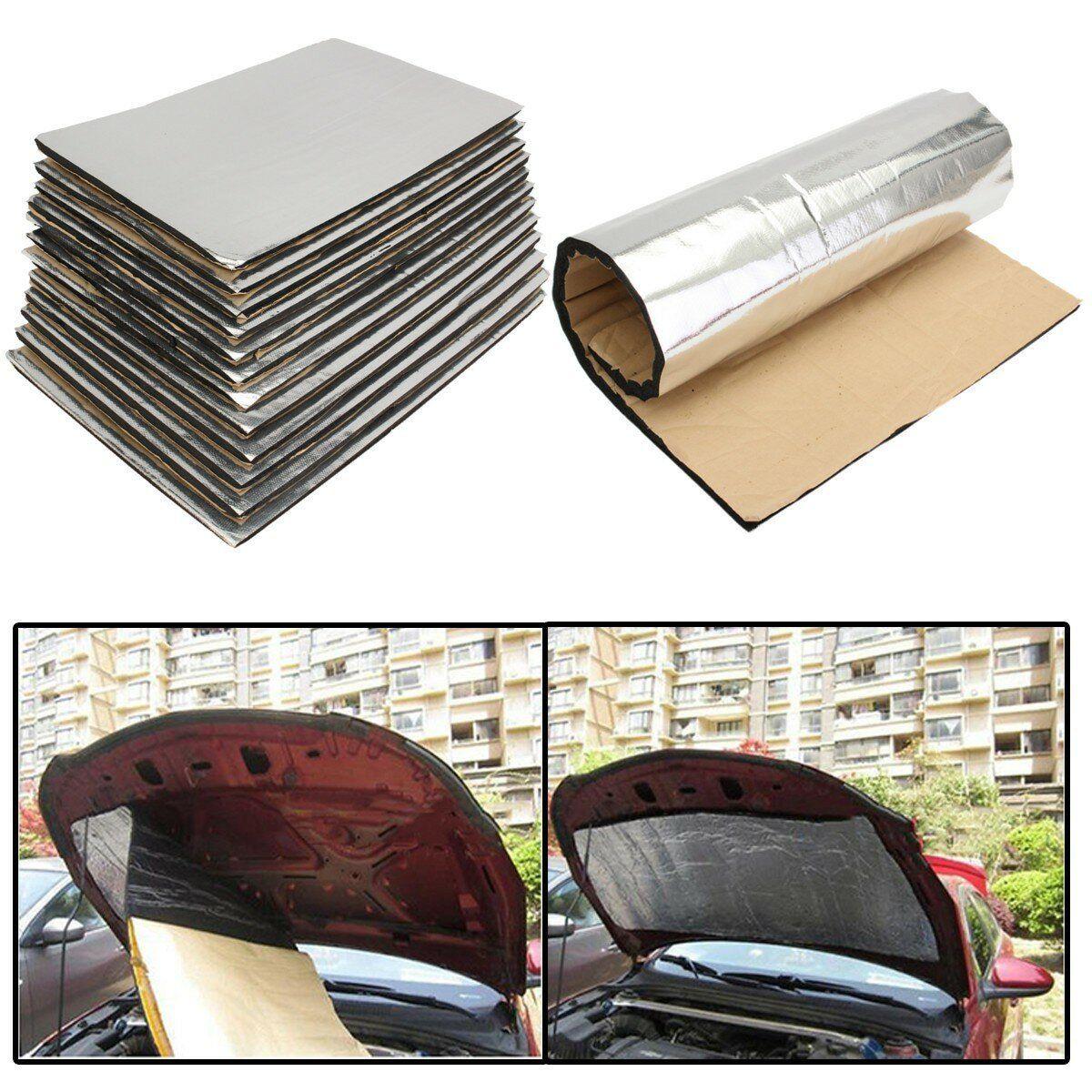 CTT US$27.03 12 Sheets 10mm Car Van Sound Proofing Deadening Insulation Closed Cell Foam