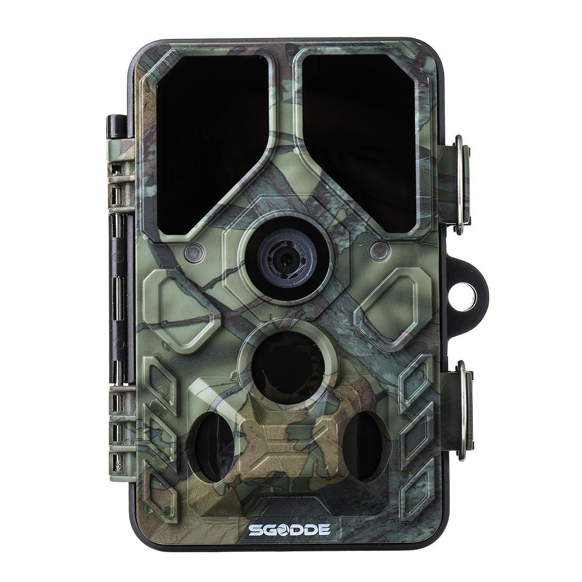 SGODDE 16MP 1080P 2.4Inch LCD Infrared Night Vision Hunting Camera Wide Angle Track Camera