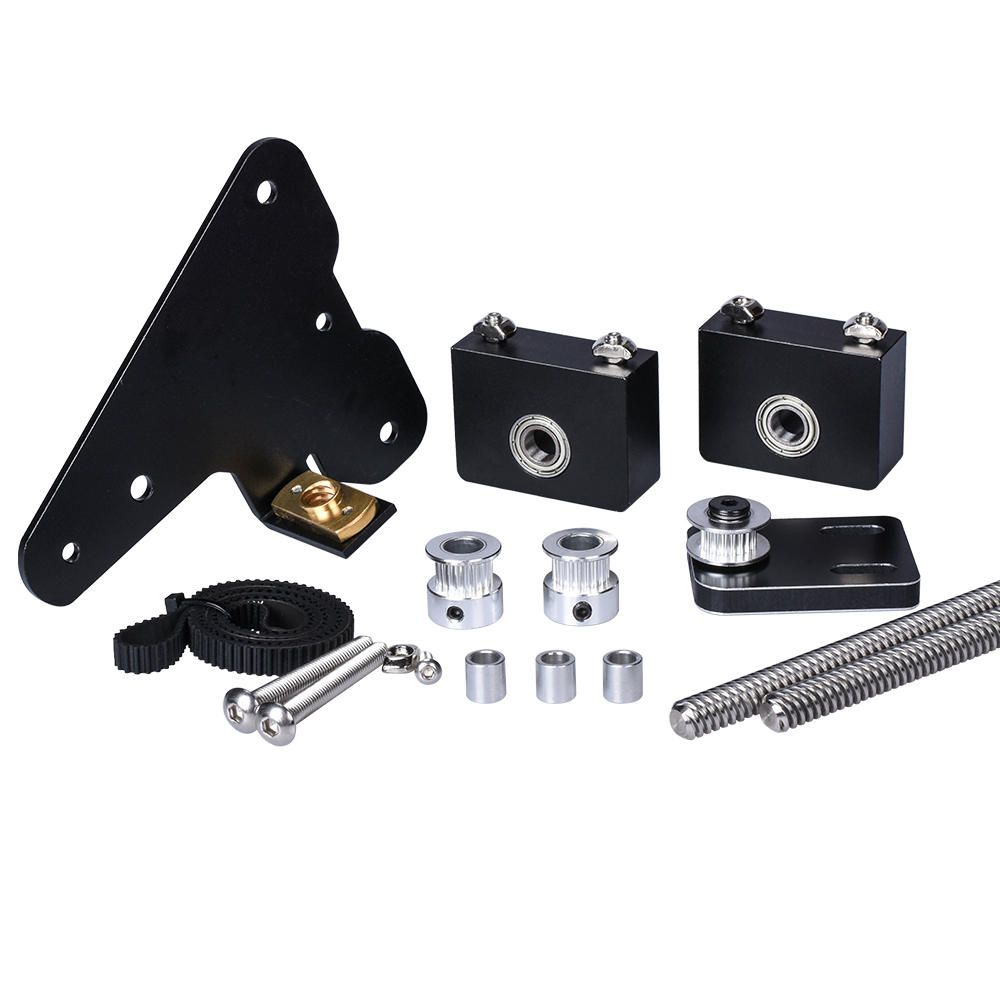 Dual Z axis Upgrade Kit for Creality 3D Ender Version Use with Single Stepper Motor Dual Z Tension Pulley Set