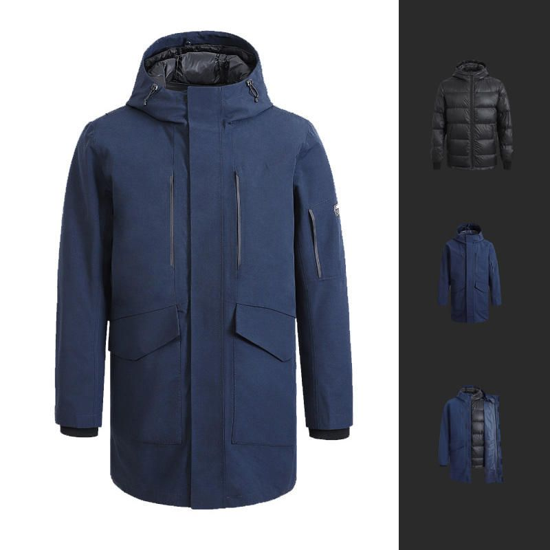 Cotton Smith IP64 3 In 1 Mid length Men Down Jacket From Xiaomi Youpin