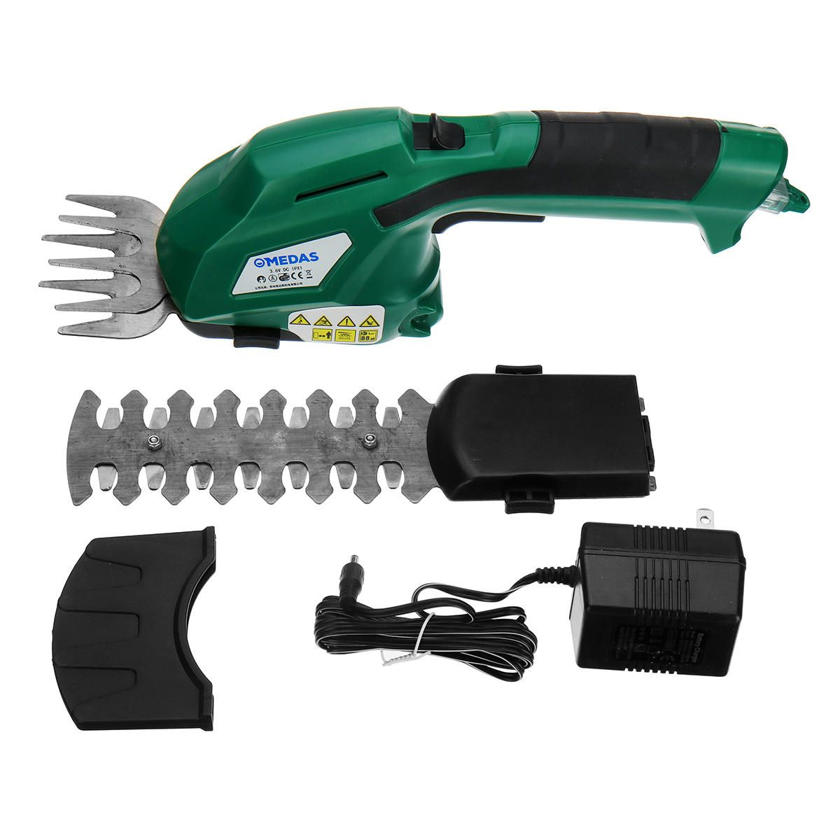 2 in 1 Li Ion Battery Pruning Tool Cordless Hedge Grass Shears Trimmers Cutters Shrub Tool