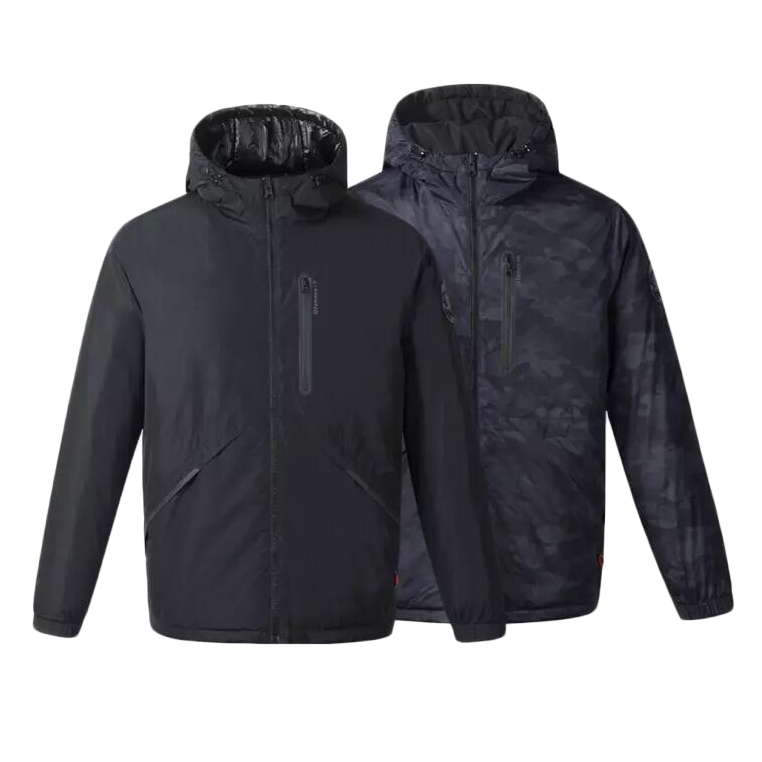 Uleemark 3.0 Smart Heating Down Jacket From Xiaomi Youpin Automatic Heating Waterproof Goose Feather 2 Size Style