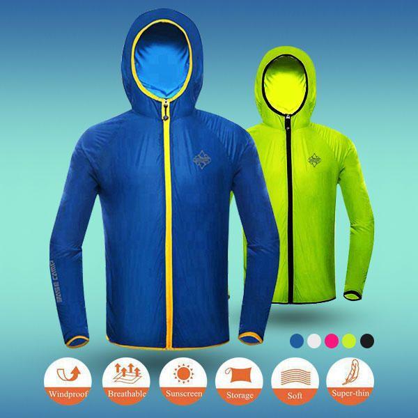 Basecamp Outdooors Skin Clothing Sunscreen Clothing Breathable Windbreaker Jacket
