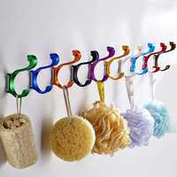 Space Aluminum Colored Swan Hook Decorative Hanger