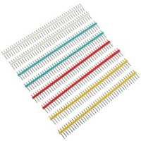 10pcs 1x40P 40Pin 2.54mm Straight Single Row Male Pin Header Strip