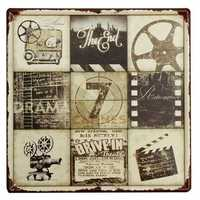 Movie Feature Tin Sign Vintage Metal Plaque Poster Bar Pub Home Wall Decor