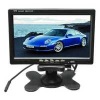 7 inch LCD Monitor + IR 18LED Reverse Backup Camera Rear View Kit For Truck Bus RV