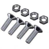 Car Truck Quick Release Fasteners Kit Tool For Bumper Trunk JDM